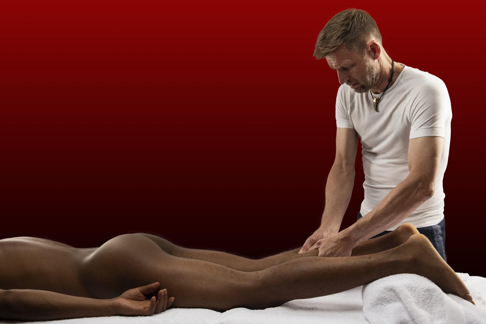 Sportsmassage løsner muskelspændinger